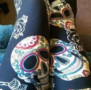 87e850f7d73f Women s Sugar Skull Leggings on Poshmark